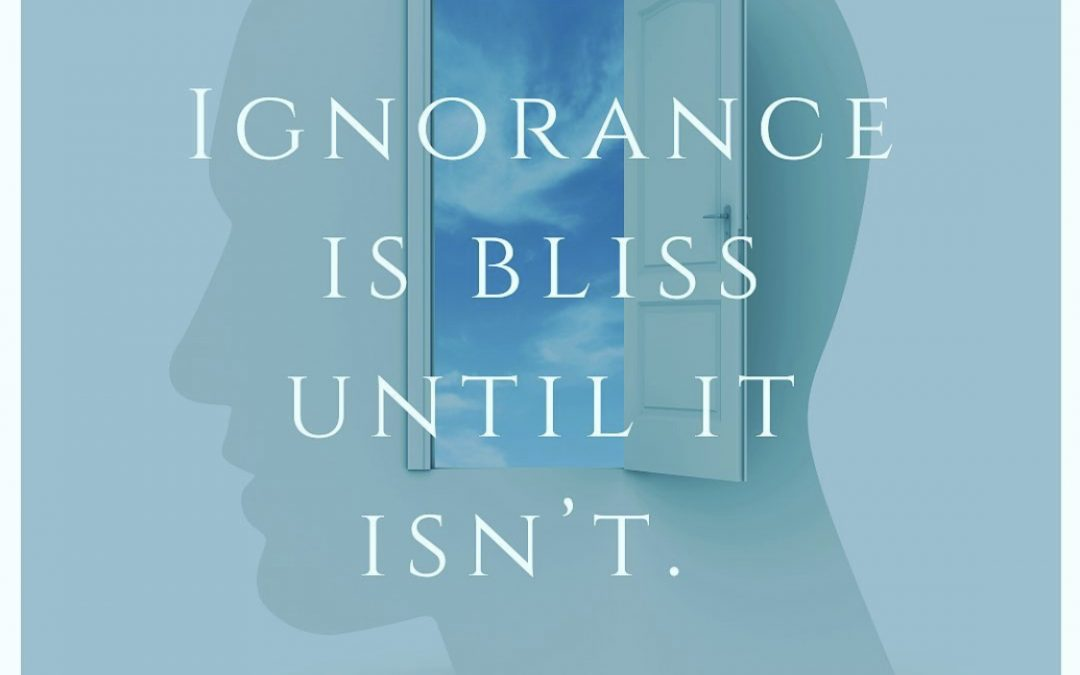 Ignorance Is Bliss, Until It Isn't